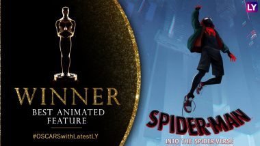 Oscars 2019 Best Animated Feature Winner: Spider-Man: Into The Spider-Verse Swings The Trophy Away From Incredibles 2 and Isle of Dogs at 91st Academy Awards