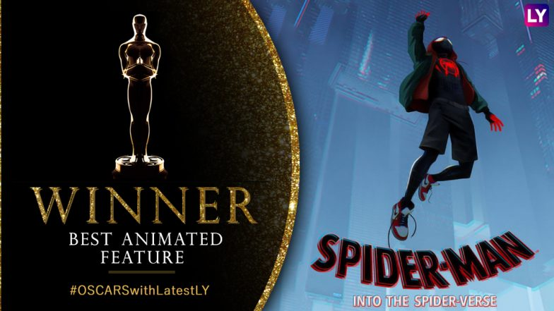 Image result for into the spider-verse oscar