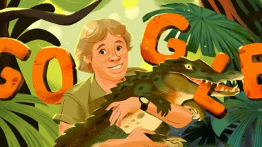 Steve Irwin's 57th Birthday: Google Doodle Honours Australian Conservationist With Illustrations Tracing His Love for Crocodiles