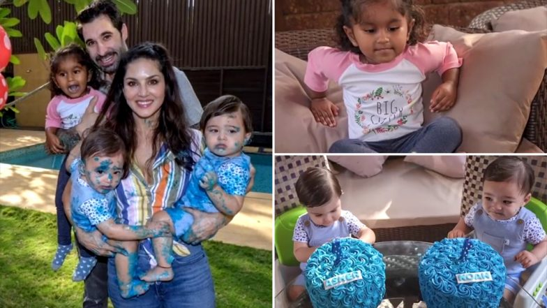Video! Sunny Leone Wishing Happy Birthday to Her little Bundles of Joy Is Too Cute To Miss!