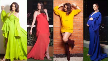 A Heavily-Pregnant Surveen Chawla Shows How to Flaunt Baby Bump and Look Super Chic in These Glamorous Photos