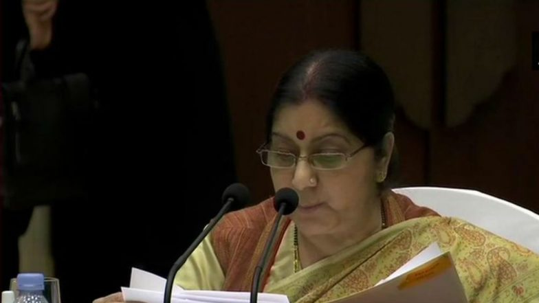 Sushma Swaraj Assures All Help to Families of Indians Killed in Ethiopian Airlines Plane Crash