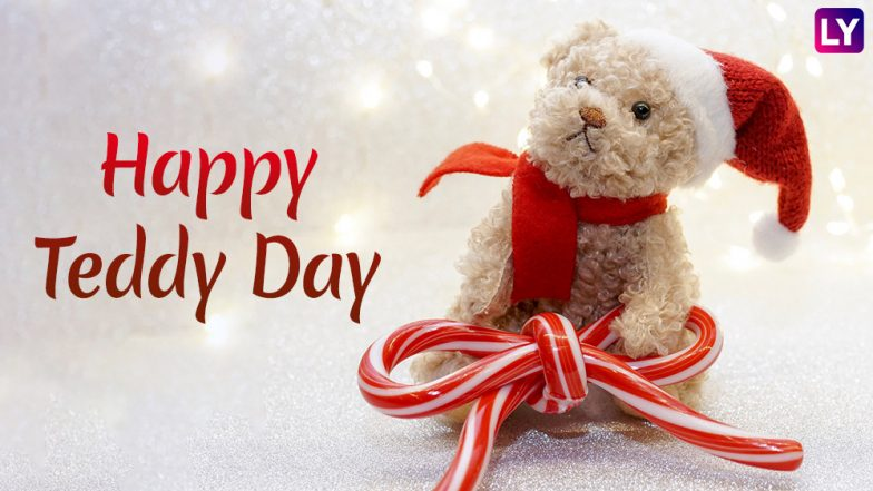 Happy Teddy Day 2019 Wishes: Romantic GIFs Images, WhatsApp Sticker Messages, Greetings, Instagram Quotes & SMS to Send During Valentine Week