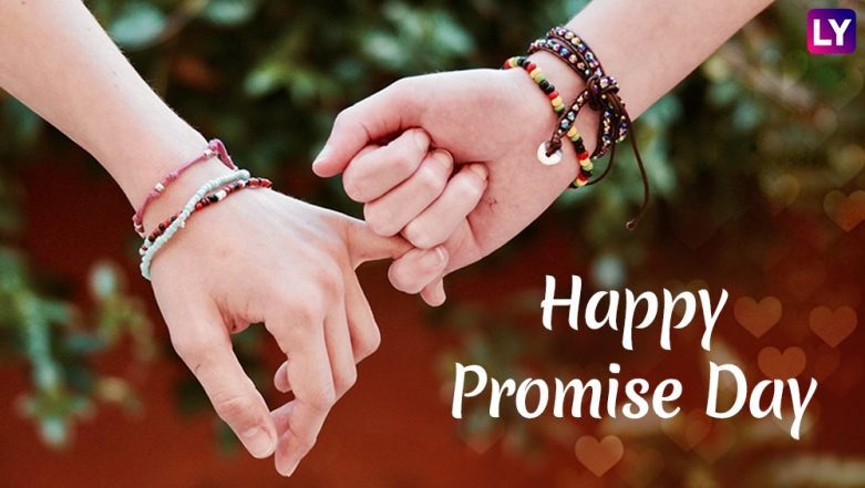 Promise Day 2019 Wishes & WhatsApp Stickers: GIF Image Messages, Romantic Greetings, Instagram Quotes & SMS to Send During Valentine Week