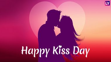 Kiss Day 2019 Messages: Romantic Quotes, Facebook Status and Greetings to Celebrate The Beautiful Expression of Love This Valentine Week