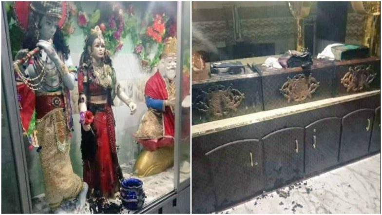 Image result for hindu temple vandalized in pakistan khairpur