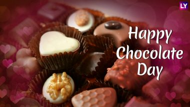 Chocolate Day 2019 Messages & Greetings: WhatsApp Stickers, Instagram Quotes, GIF Images to Wish Happy Chocolate Day This Valentine Week