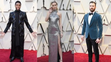 Academy Awards 2019 Red Carpet: Brie Larson, Chris Evans, Chadwick Boseman - All The Marvel Heroes Who Have Arrived At The Oscars! [View Pics]