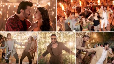 Total Dhamaal Song Speaker Phat Jaaye Review: Anil Kapoor, Madhuri Dixit, Ajay Devgn's Track is Catchy and Hummable (Watch Video)