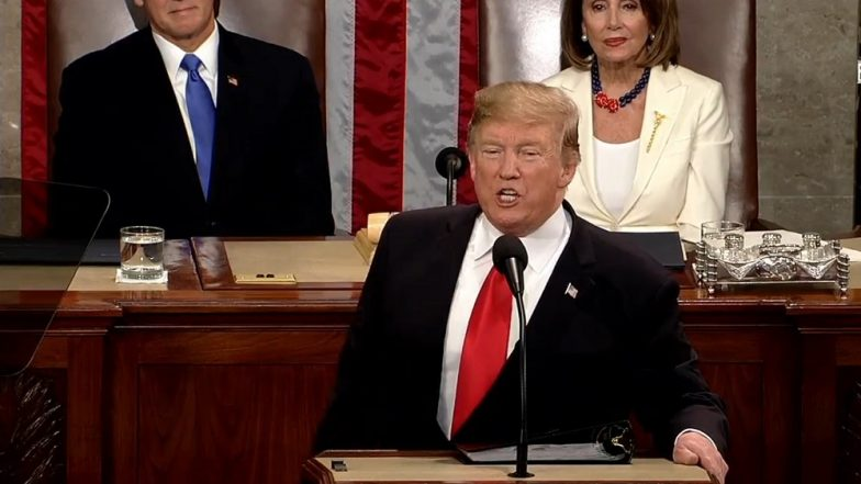 Trump Announces Second Summit with Kim Jong-Un, Defends His Two-Year Presidency in State of the Union Speech
