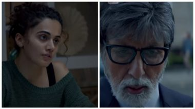 Badla Box Office Collection Day 11: Amitabh Bachchan and Taapsee Pannu Starrer Set to Surpass Lifetime Collection of Pink, Grosses Rs 70.52 Crore