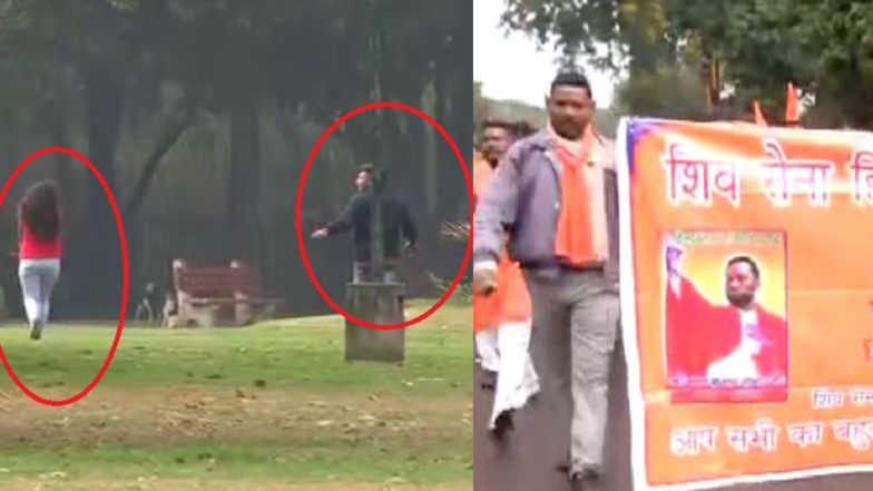 Valentine's Day 2019: Shiv Sena Members Storm Into Chandigarh Park, Force Couples to Flee