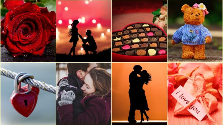 Valentine Week 2019 Full List in Image: Date Sheet of Rose Day, Propose Day, Kiss Day to Valentine's Day for Free Download Online