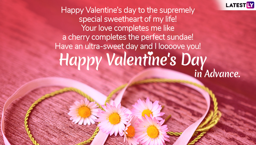 Valentine's Day 2019 Wishes And Messages: Romantic