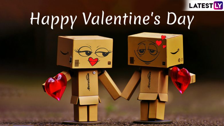 Valentine's Day 2019 Wishes and Messages: Romantic WhatsApp Stickers, GIF Images, Love Quotes, SMS to Send Happy Valentines Day Greetings