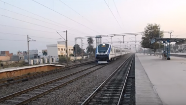 Vande Bharat Express Hits Motorcycle Hours After Stones Hurled at Train