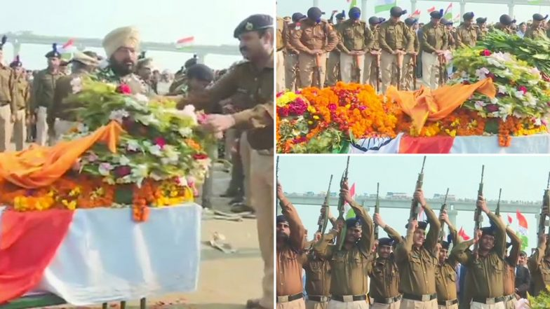 Pulwama Terrorist Attack: Thousands Pay Tributes to Martyrs As Bodies Of CRPF Soldiers Reach Homes