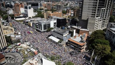 As Mass Protests Break out in Venezuela, European Union gives Maduro 24 Hours to call for Re-elections