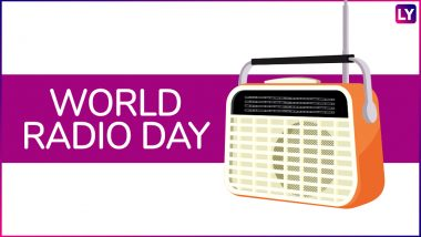 World Radio Day 2020 Date: Theme & Significance of the Day to Celebrate Radio as a Way of Educating People & Spreading Information