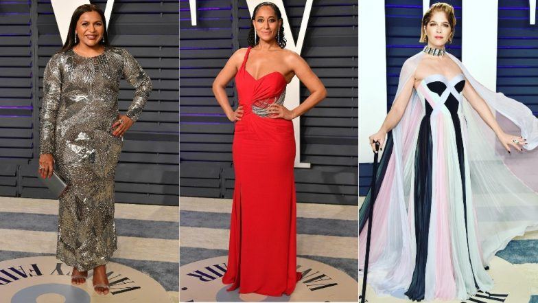 Oscars 2019 After-Party Worst Dressed Celebs: Mindy Kaling, Trace Ellis Ross, Selma Blair Lose Major Brownie Points For Bad Fashion!