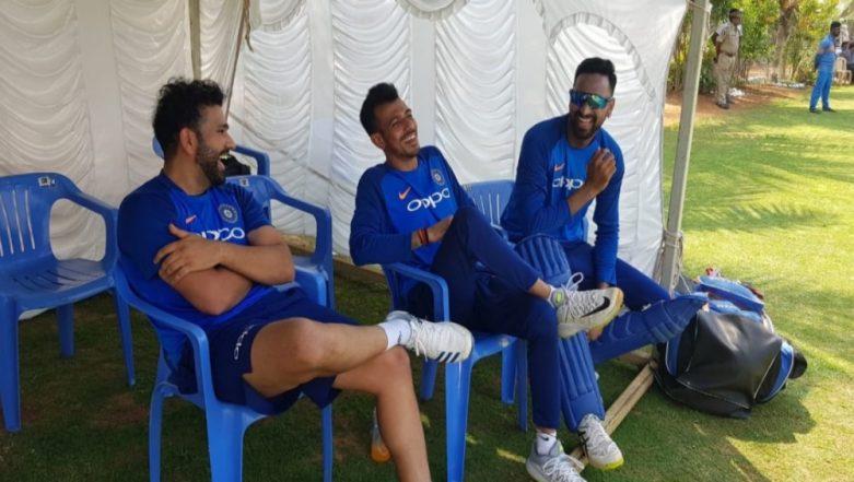 Rohit Sharma Hilariously TROLLS Yuzvendra Chahal Once Again; Calls him a Legend of Instagram