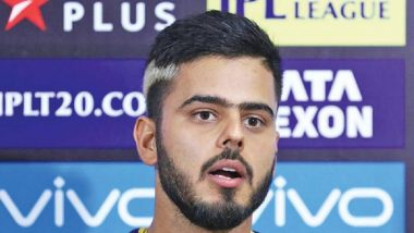 IPL 2019: Kolkata Knight Riders Batsman Nitish Rana Says, 'Want to Hold On to My Form'