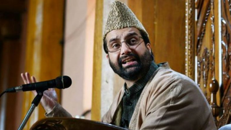 Kashmir Terror Funding Case: Mirwaiz Umar Farooq Says 'Can't Attend NIA Summons Due to Security Reasons'
