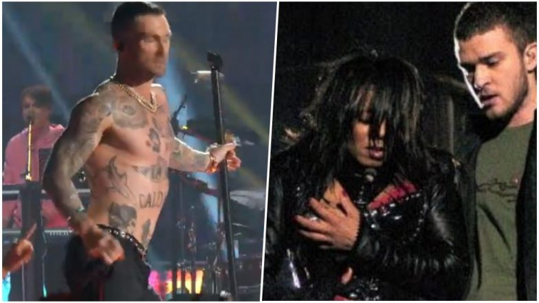 Adam Levine's shirtless Super Bowl appearance prompts backlash