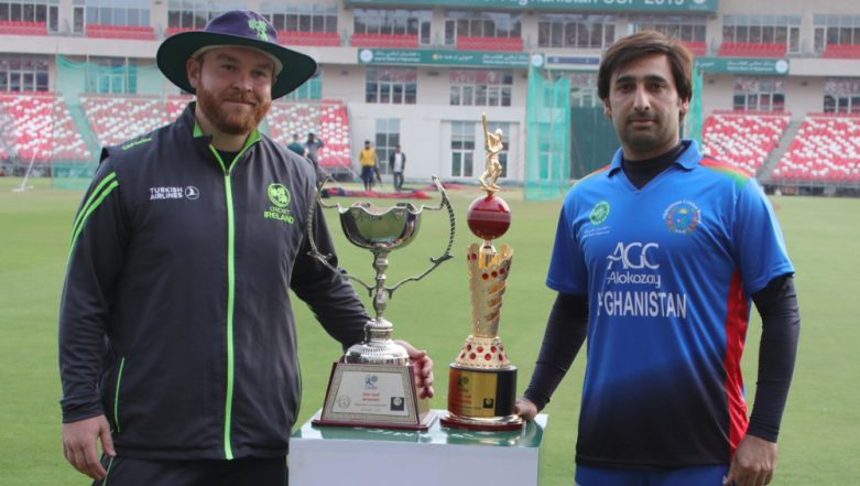 Afghanistan vs Ireland 2019 Schedule, Squads, Live Streaming Online and DSport Telecast Details