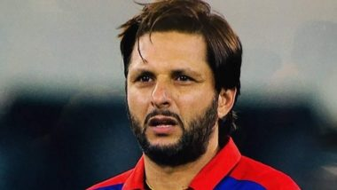 Here's What Shahid Afridi Had to Say About Indian Team Donning Camouflage Cap During Third ODI Against Australia (Watch Video)