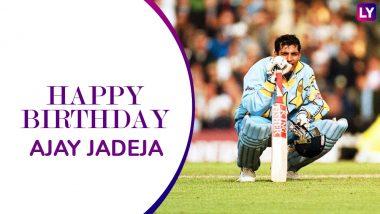Ajay Jadeja Birthday Special: Remembering Former Indian Cricketer's 5 Memorable Knocks As He Turns 48