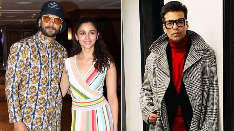 Gully Boy Ranveer Singh and Alia Bhatt Do the Toodles and Karan Johar is Lovin' It! - Watch Video