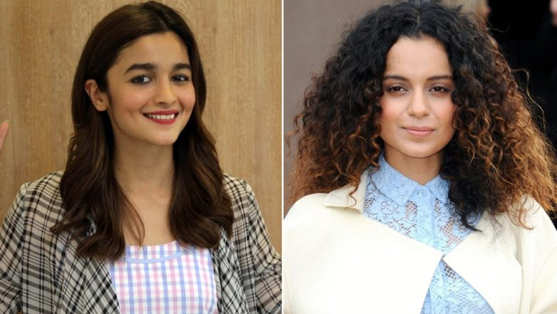 Alia Bhatt Reacts to Kangana Ranaut's Statement About Bollywood Ignoring Her, Says 'I Wasn't Aware That I Had Upset Her'
