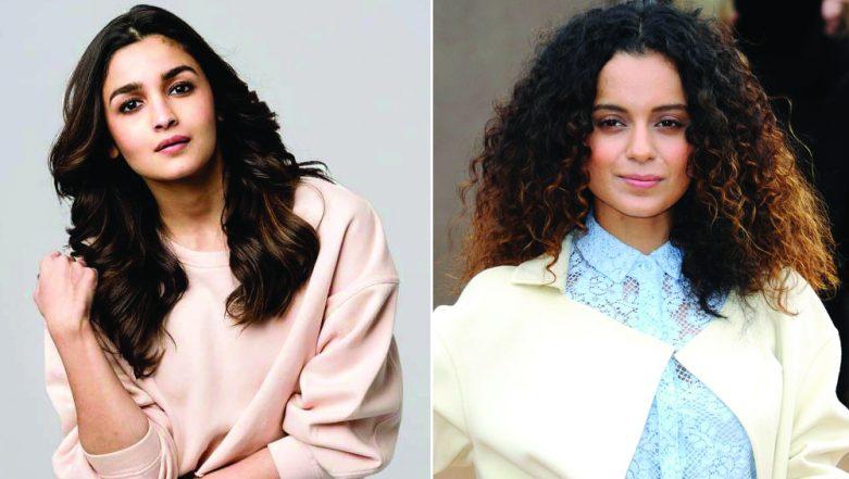 Alia Bhatt Has a Mature Response to Kangana Ranaut's Criticism for Her Gully Boy Performance