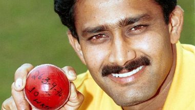 On This Day in 1999, Anil Kumble Became Second Bowler After Jim Laker to Take All Ten Wickets in a Test innings; Took 10/74 vs Pakistan