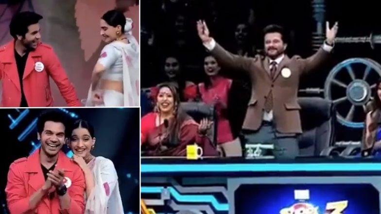 Anil Kapoor's Reaction to Watching Sonam and Rajkummar Rao Dance to Ek Ladki Ko Dekha Toh Aisa Laga Title Track is Priceless! - Watch Video