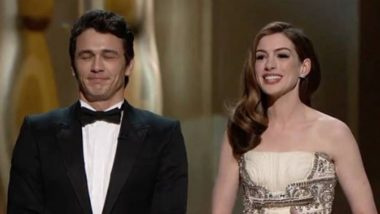 Oscars 2019: Anne Hathaway Takes a Dig at Her Hosting Fail with James Franco as the 91st Academy Awards Kick-Starts without a Host