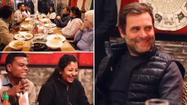 #ApniBaatRahulKeSaath Video: Rahul Gandhi Interacts With Students At A Restaurant in Delhi; Is This Congress Answer to PM Modi's 'Mann Ki Baat' Ahead of Lok Sabha Polls?
