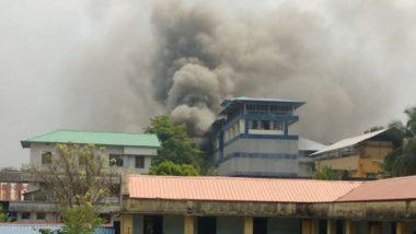 Kerala: Major Fire Engulfs Paragon Footwear Showroom in Kochi