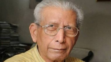 Namvar Singh, Hindi Writer and Critic, Dies in Delhi Hospital at Age 92, President Ram Nath Kovind and Narendra Modi Pay Tribute