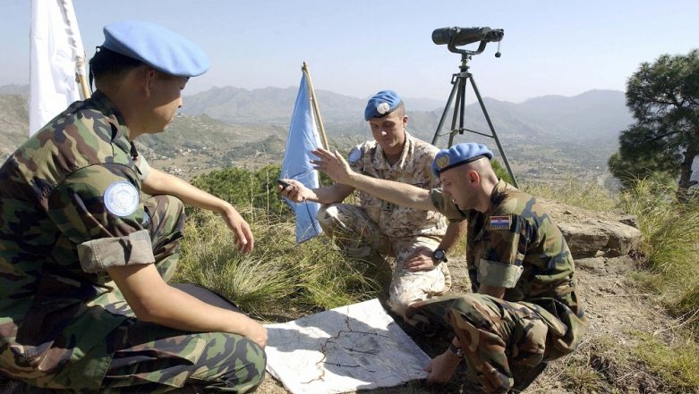 UN Asks for Escorts for Military Observers in Kashmir After Pakistan Flag Incident
