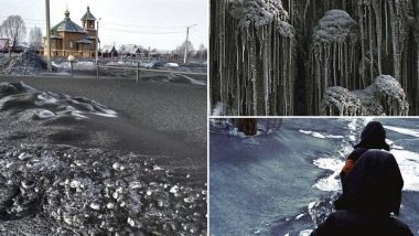 Black Snow in Siberia! Areas Polluted by Coal Dust Have Transformed Into Dark Snowscapes, View Pics
