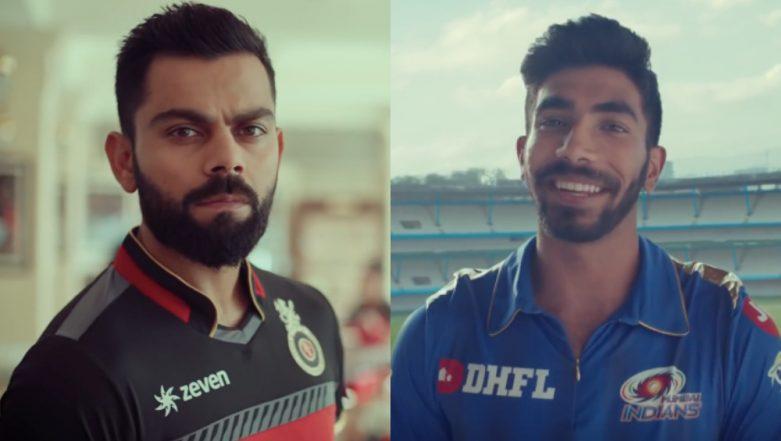 IPL 2019: Jasprit Bumrah Challenges World's Best Batsman Virat Kohli Ahead of Indian Premier League 12, Watch Video