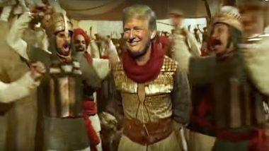 US President Donald Trump Dances As 'Peshwa Warrior' on Ranveer Singh's Song 'Malhari', Mashup Video Goes Viral