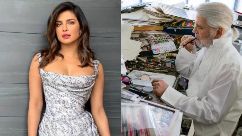 Karl Lagerfeld Passes Away: Priyanka Chopra Pays Respect to Chanel Creative Director with This Tweet