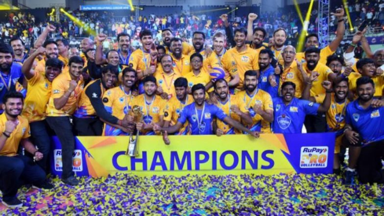 Chennai Spartans Win Inaugural Pro Volleyball League 2019; Defeat Calicut Heroes 3-0