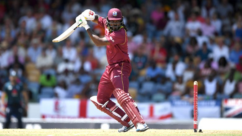 West Indies vs England 4th ODI 2019: Chris Gayle Crosses the Mark of 500 Sixes in International Cricket and Joins the 10,000 Runs Club in ODI Cricket