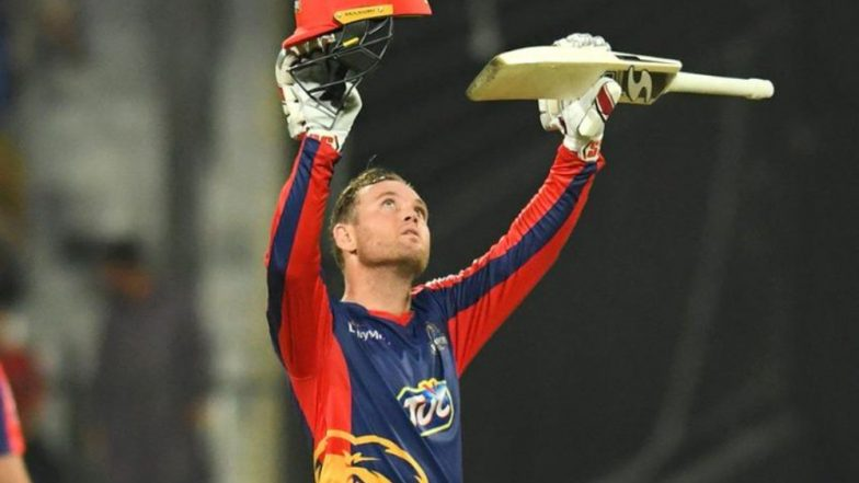 PSL 2019: Colin Ingram Becomes First Overseas Batsman to Score a Century in Pakistan Super League, Watch Video Highlights