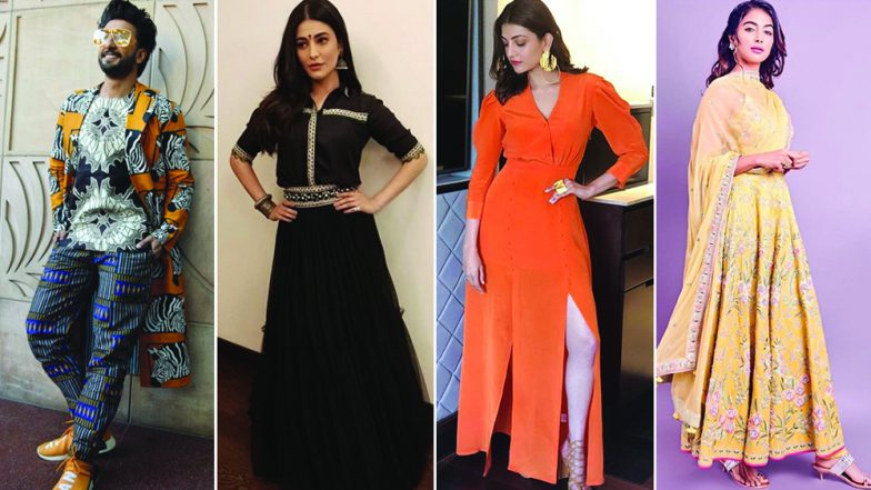 Ranveer Singh, Shruti Haasan and Pooja Hegde's Style Statements Baffle Us - View Pics