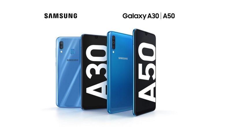 Samsung Galaxy A30, Galaxy A50 Smartphones With Super AMOLED Displays Revealed